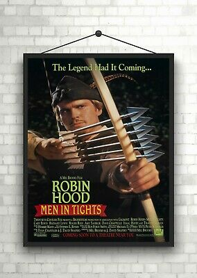 Robin Hood Prince of Thieves Classic Large Movie Poster Print Maxi A1 A2 A3 A4