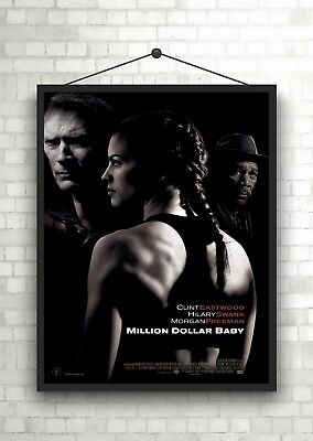 Million Dollar Baby Classic Large Movie Poster Art Print A0 A1 A2 A3 A4 Maxi