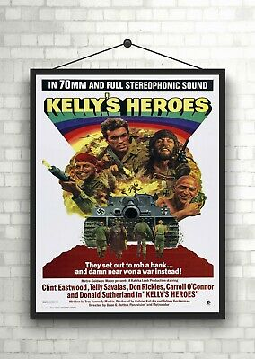Kelly/'s heroes Clint Eastwood movie poster print #5