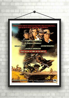 Once Upon A Time In The West Vintage Movie Poster Art Print Maxi A1 A2 A3 A4
