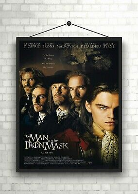 The Man In The Iron Mask Classic Large Movie Poster Art Print Maxi A1 A2 A3 A4