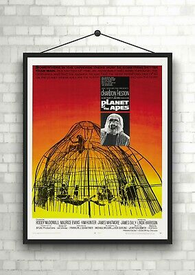 Planet of The Apes Vintage Movie Poster Art Print Maxi A1 A2 A3 A4