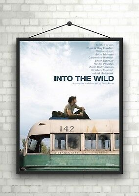 Into the Wild 2007 Movie Poster Serie A0-A1-A2-A3-A4-A5-A6-MAXI 361