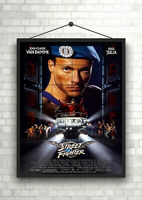 Street Fighter Van Damme Classic Large Movie Poster Art Print Maxi A1 A2 A3 A4
