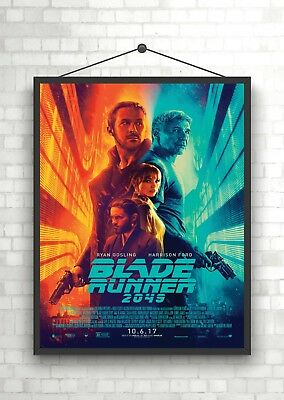 Blade Runner Classic Vintage Movie Poster or Canvas Art Print A3 A4 Sizes