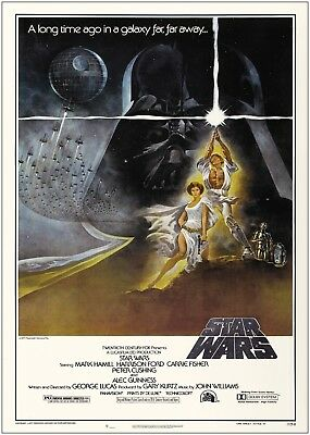 Star Wars Classic Large Movie Poster Art Print A0 A1 A2 A3 A4 Maxi