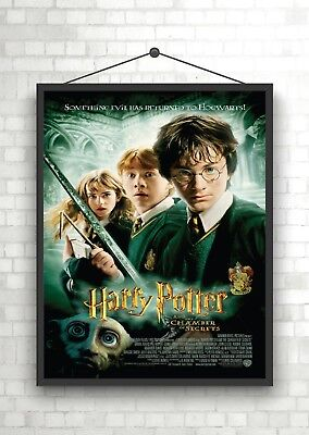 Harry Potter Chamber of Secrets Classic Movie Poster Print A0 A1 A2 A3 A4 Maxi