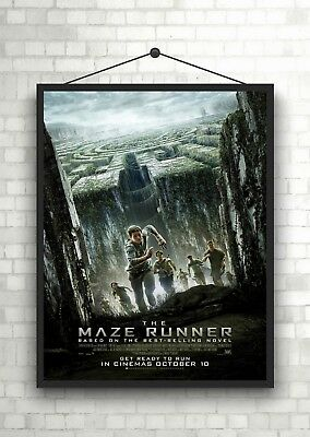 MAZE RUNNER THE DEATH CURE MOVIE POSTER FILM ART A4 A3 PRINT CINEMA