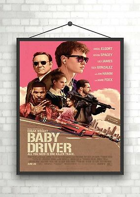 Baby Driver Classic Movie Poster Art Print A0 A1 A2 A3 A4 Maxi