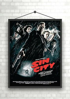 Sin City Classic Large Movie Poster Art Print A0 A1 A2 A3 A4 Maxi