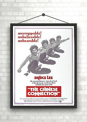 Bruce Lee Chinese Connection Vintage Large Movie Poster Print A0 A1 A2 A3 A4
