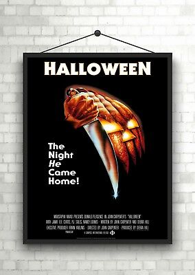 Halloween Classic Large Movie Poster Art Print A0 A1 A2 A3 A4 Maxi