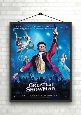 The Greatest Showman Classic Movie Poster Art Print A0 A1 A2 A3 A4 Maxi