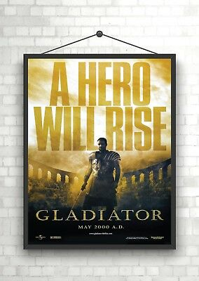 Gladiator Classic Large Movie Poster Print