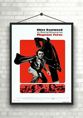 Clint Eastwood Fistful of Dollars Movie Large Poster Art Print Maxi A1 A2 A3 A4