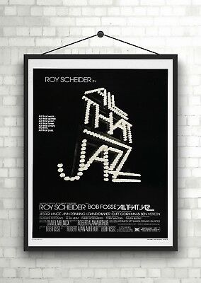 All That Jazz Classic Large Movie Poster Art Print A0 A1 A2 A3 A4 Maxi