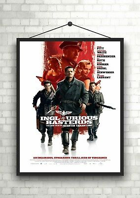 Inglourious Basterds 2009  Movie Poster A0-A1-A2-A3-A4-A5-A6-MAXI 677