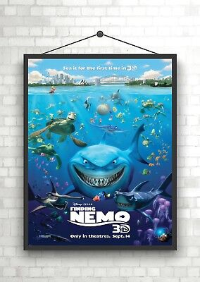 Finding Dory Art Giant Framed CANVAS PRINT A0 A1 A2 A3 A4 Sizes