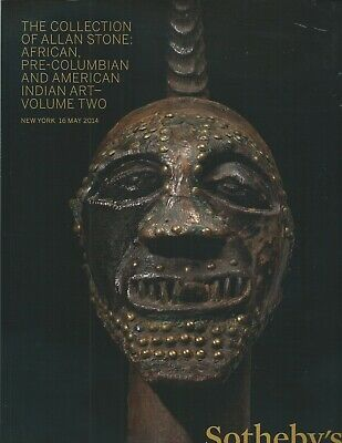 SOTHEBY'S African Oceanic Pre-Columbian Amer Indian ART Stone Coll 2 Vol Cat Set