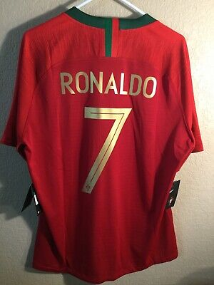 a6b2b4ea5 Authentic Nike Portugal Ronaldo CR7 Jersey 2018 World Cup ( 195) Extra  Large XL
