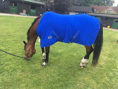 Cwell Equine New HORSE COB PONY SHOW TRAVEL FLEECE RUG stable cooler choice o...