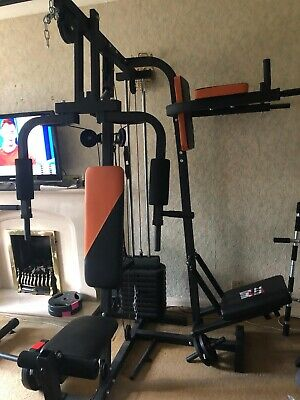 V-Fit Herculean LGF-2 Lay Flat Home Gym