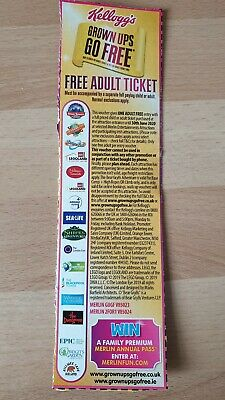Kellogs 2 for 1 voucher coupon. Adults grown ups go free. 30/06/20