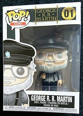 Funko Pop George R.R. Martin - Game Of Thrones - N°01 Exclusive