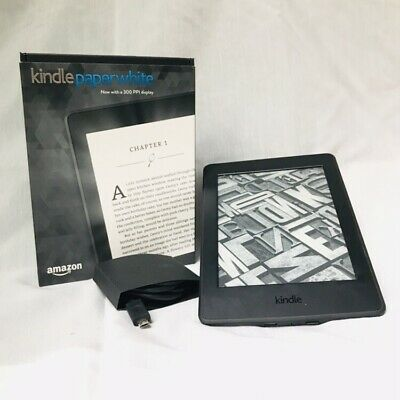 AMAZON KINDLE PAPERWHITE 3rd (7th Generation) 4GB, Black