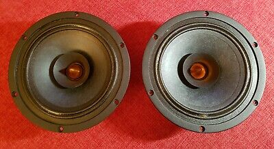"2 X Dayton Audio PS180-8 6-1/2"" Point Source Full-Range Neo Driver."