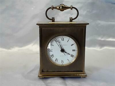 Matthew Norman  Heavy  Carriage Clock  - Swiss made  71360 battery operated