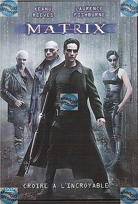 DVD MATRIX keanu reeves laurence fishburne