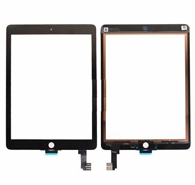 For Apple iPad Air 2 Digitizer Black Touch Screen Glass Replacement Genuine IC