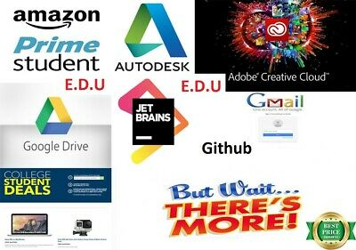 💕EDU 📧MAIL💕6MONTHS AMZN PRIME FREE - Fast SHIPPING-GOOGLE DRIVE UNLIMITED💕✔