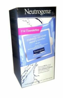 Neutrogena Make-Up Remover Facial Towelettes, 114-count OPEN BOX