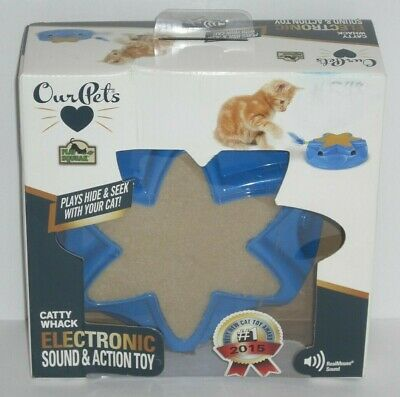 """OurPets Electronic Action Toy Catty Whack """"2015 Best New Cat Toy"""""""