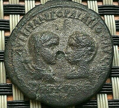 """Provincial Coin Gordian Iii And Tranquillina Ae27 """"Eagle"""" Of Anchialos, Thrace."""