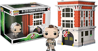 Funko Pop! Ghostbusters - Dr. Peter Venkman with Firehouse #03 Exclusive