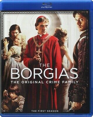 THE BORGIAS TV SERIES THE COMPLETE FIRST SEASON 1 New Sealed Blu-ray