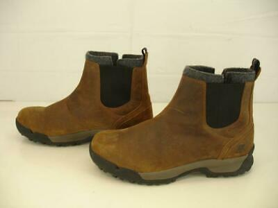 fafbe0d506b SOREL MENS 9 M Paxson Chukka Waterproof Snow Boots Brown Leather Ankle  Insulated