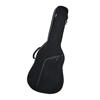 Padded Guitar Carry Case Gig Bag Backpack for 41 inch Acoustic Guitar Gray