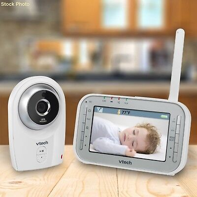 Baby Video Monitor With Two-Way Communication & Room Temperature Ships Free