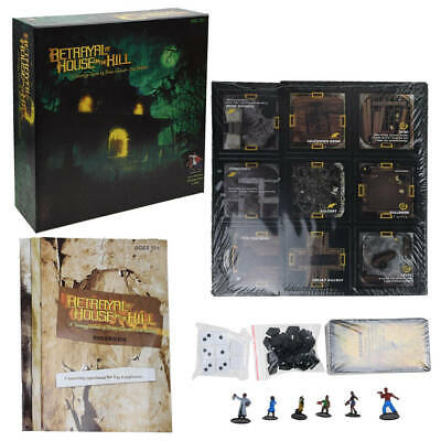 Betrayal At House On The Hill-2nd Edition Board Game Avalon Hill Bruce Glassco