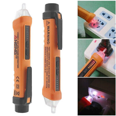 New AC Non-Contact LCD Test Pen Voltage Detector Tester 12~1000V 50-60Hz Tool