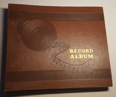 78 Rpm Album Book Lot Of 1 Book 9 Records Total Various Artists And Genres