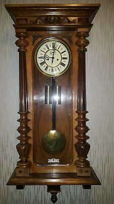 Germania  2 weight Vienna Regulator clock