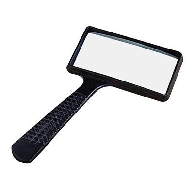 Large Reading 2.5X Magnifying Glass Magnifier Map Book Pocket Light Aid Lens New