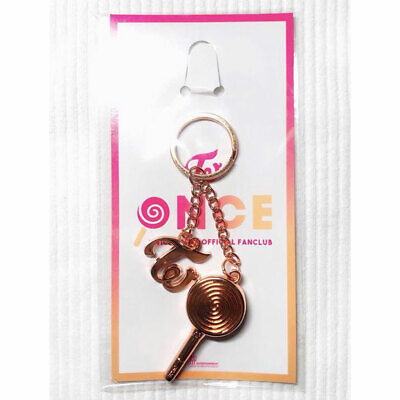 TWICE Fan Club Limited ONCE JAPAN Key Chain Charm Holder Candy Bong New