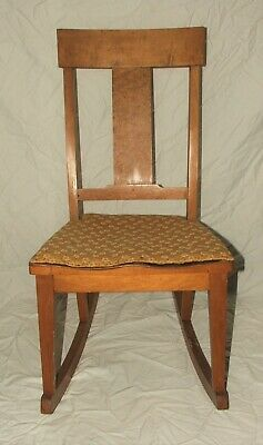 Crocker Chair Co Sheboygan Maple Childs Rocking Chair Antique Rocker