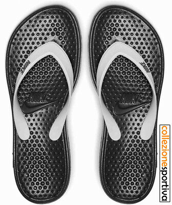 CIABATTE INFRADITO DONNA NIKE SOLAY THONG - 882699-005 col. nero/bianco